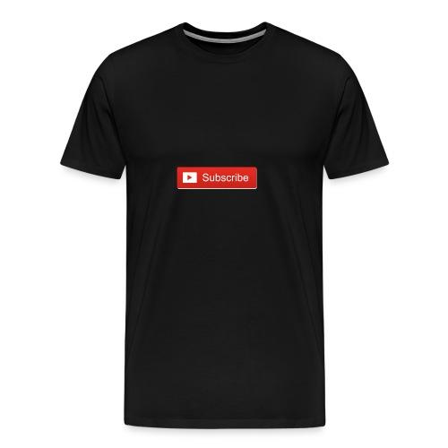 youtube_subscribe_button - Men's Premium T-Shirt