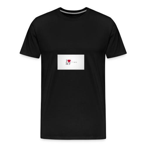 I love church - Men's Premium T-Shirt