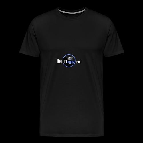 RadioCrypto Logo 1 - Men's Premium T-Shirt