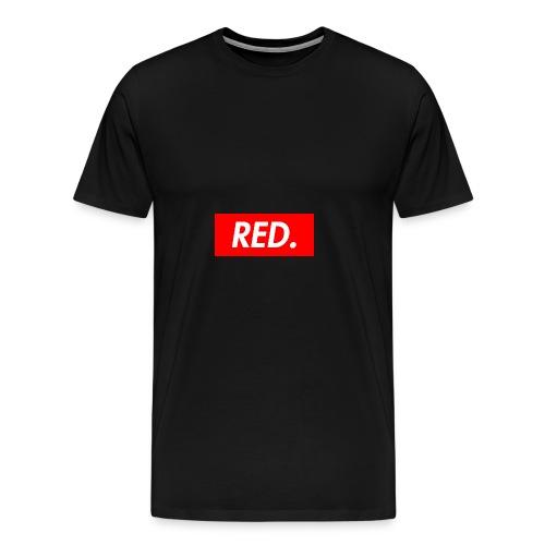 Red. - Men's Premium T-Shirt
