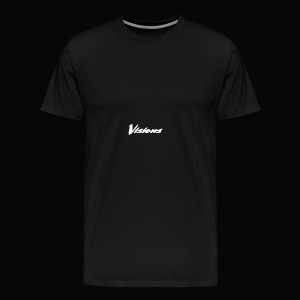 Visions white on black tees and hoodies - Men's Premium T-Shirt