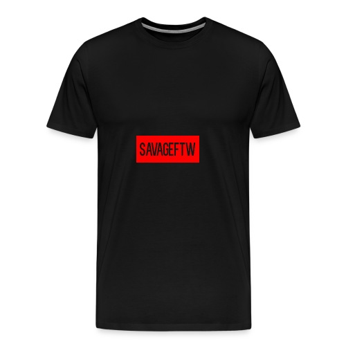 savageftw shirt - Men's Premium T-Shirt
