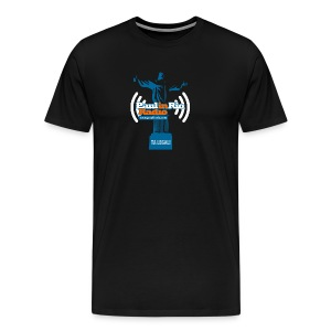 Paul in Rio Radio - The Thumbs up Corcovado #2 - Men's Premium T-Shirt