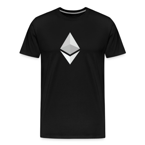 Ethereum Logo Light - Men's Premium T-Shirt