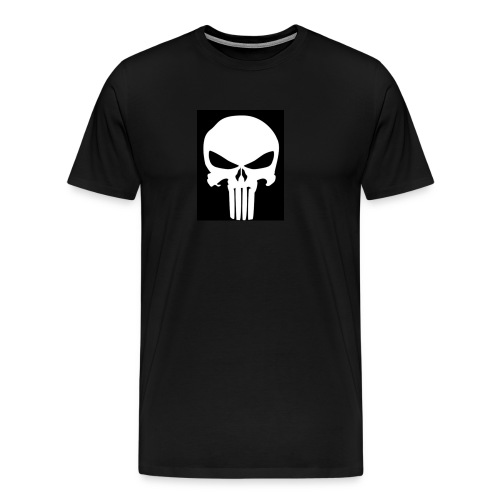Gunshot skull - Men's Premium T-Shirt