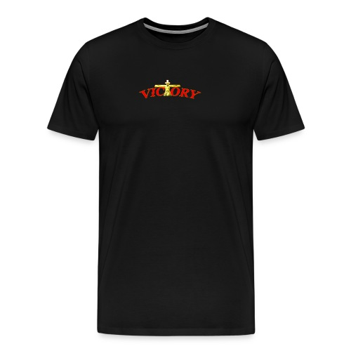 Victory In Jesus Christ - Men's Premium T-Shirt