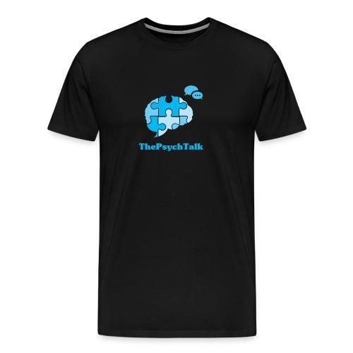 ThePsychTalk Brain - Men's Premium T-Shirt