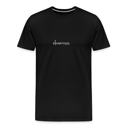 elevenroses white - Men's Premium T-Shirt