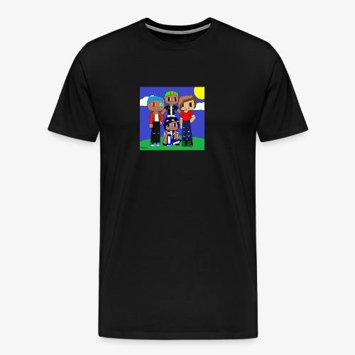 LittleDustinG Design 1 - Men's Premium T-Shirt