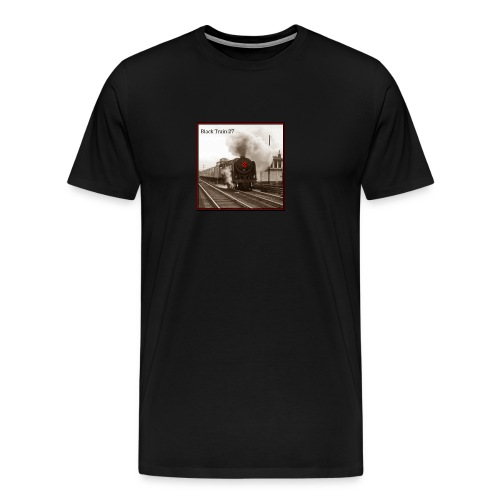 Album Cover BT27 Hi Rez sepia final jpg - Men's Premium T-Shirt
