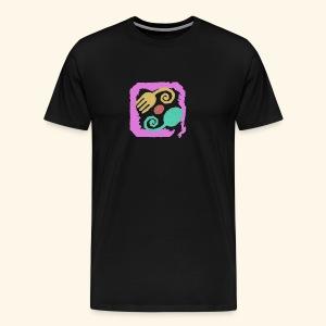 Floral Pastel - Men's Premium T-Shirt