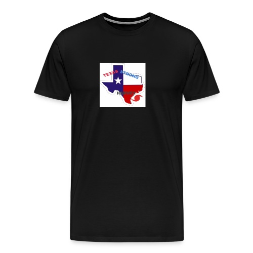 Hurricane Harvey Help - Men's Premium T-Shirt