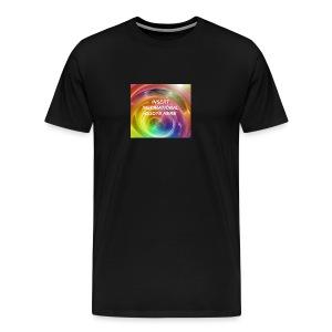 Insert rainbow here - Men's Premium T-Shirt