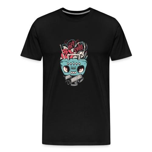 Not only for music - Men's Premium T-Shirt