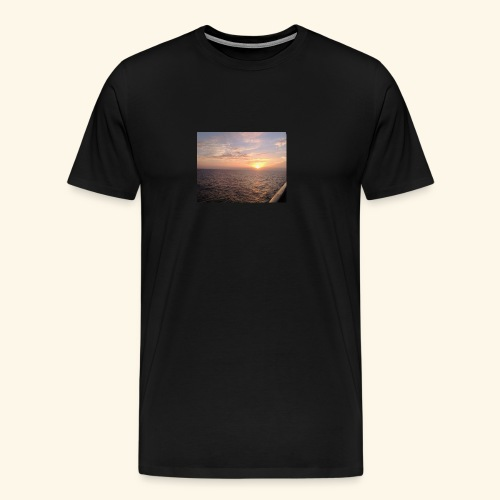 Watching the Sunset! - Men's Premium T-Shirt