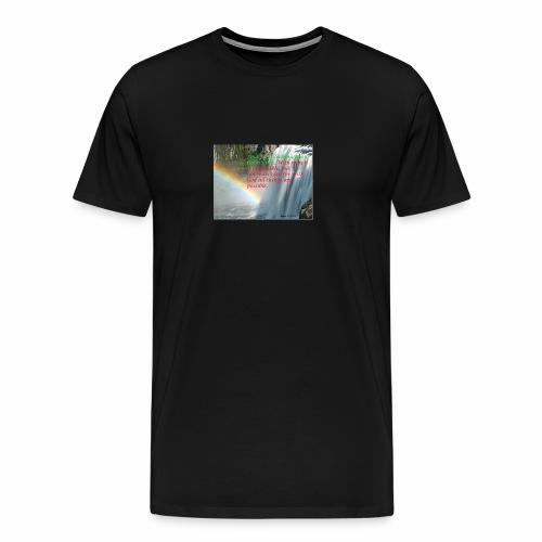 Mark 10v27 w God it is Possible copy 2 - Men's Premium T-Shirt