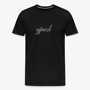 AJ Park written signature logo - Men's Premium T-Shirt