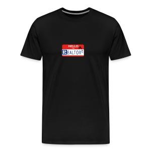 REALTOR NAME TAG - Men's Premium T-Shirt