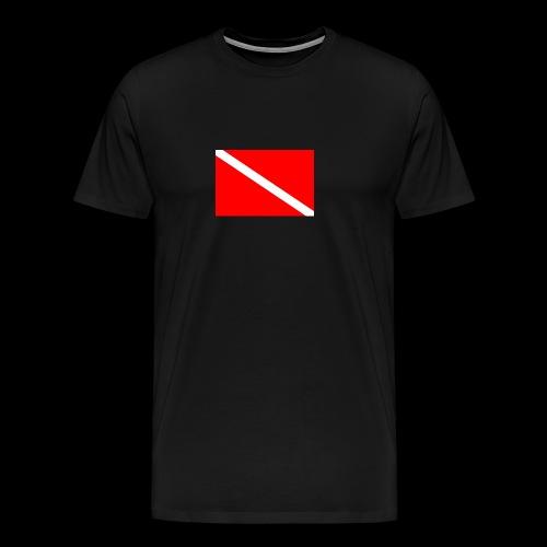 Dive Flag - Men's Premium T-Shirt