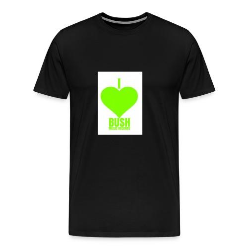 I Love Bush Music Records - Men's Premium T-Shirt