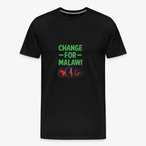 Change for Malawi Logo Shirt - Men's Premium T-Shirt