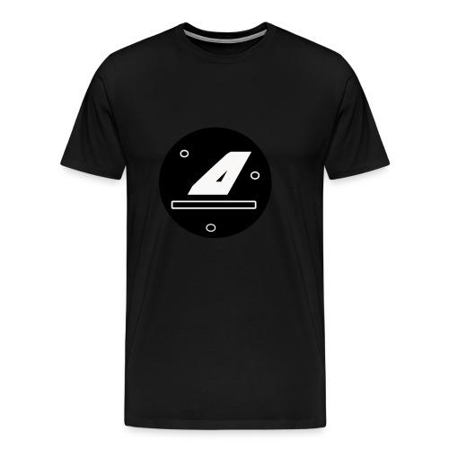 AntGamez Galaxy Logo - Men's Premium T-Shirt