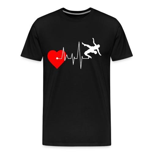 I love Wrestling - Men's Premium T-Shirt