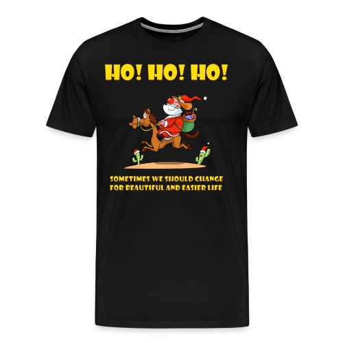 xmas funny tee shirs - Men's Premium T-Shirt