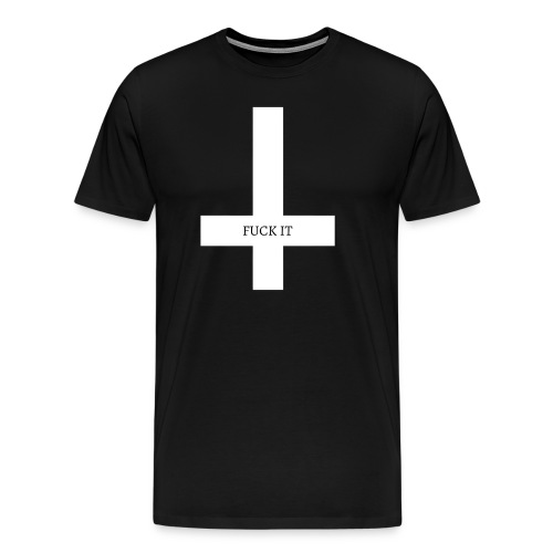 REVERSE CROSS - Men's Premium T-Shirt