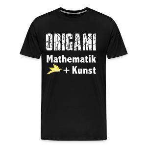 Origamiformel: Mathematik und Kunst - Men's Premium T-Shirt