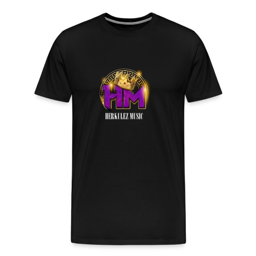 Herkulez Music Logo - Men's Premium T-Shirt
