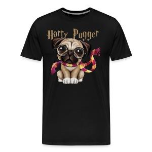 Harry Pugger Best Gift for pug lovers - Men's Premium T-Shirt