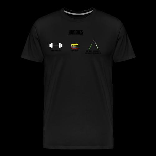 Hobbies - Men's Premium T-Shirt