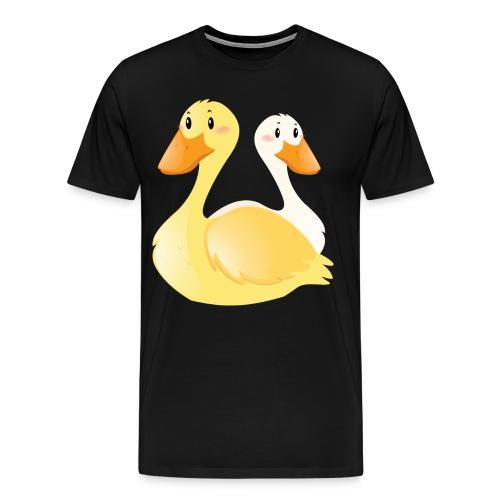 Swan - Men's Premium T-Shirt