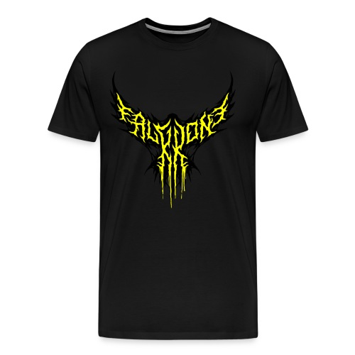 FalKKonE logo (dripping) - Men's Premium T-Shirt
