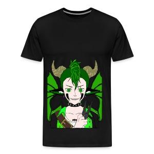 Anarchy punk demon by summer richey - Men's Premium T-Shirt