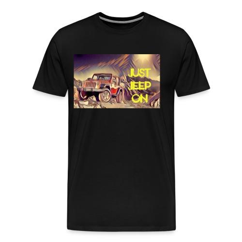 Jeepon1 - Men's Premium T-Shirt