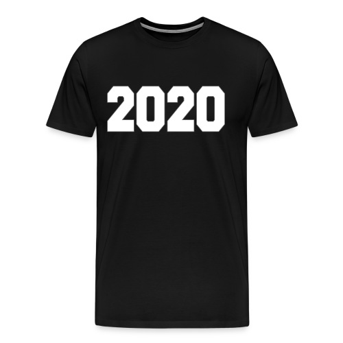 PLACE AND TIME - 2020 - Men's Premium T-Shirt