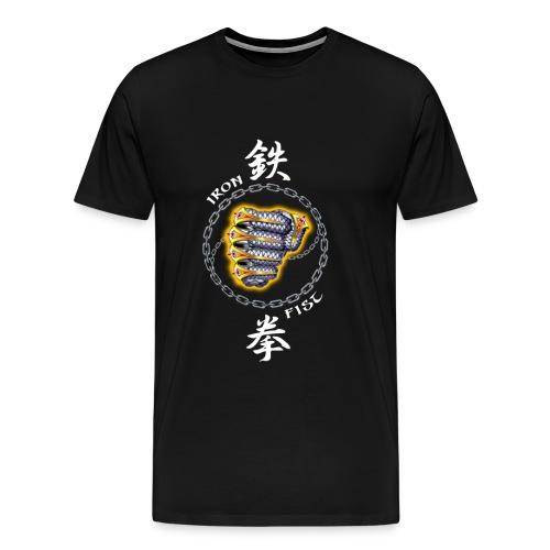 IRON FIST 01 - Men's Premium T-Shirt