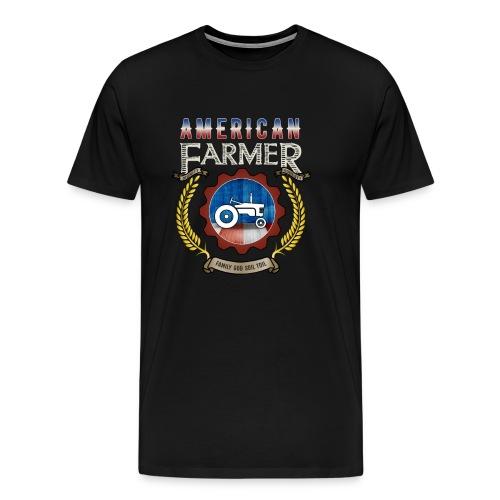 American Farmer Tribute Shirts - Men's Premium T-Shirt