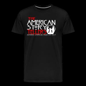 American Storyteller Horror Black - Men's Premium T-Shirt