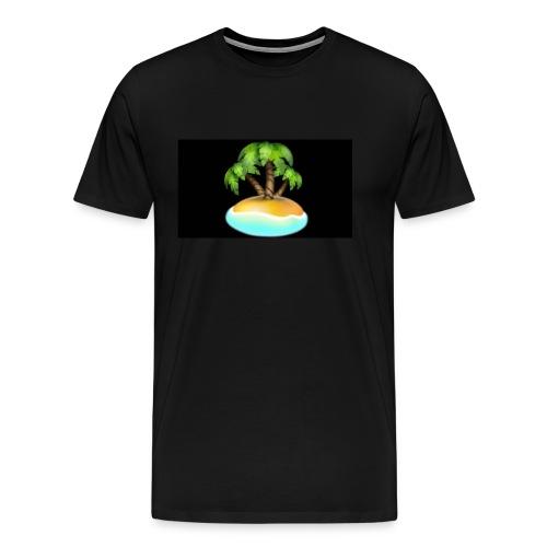 Black Island mojo logo - Men's Premium T-Shirt
