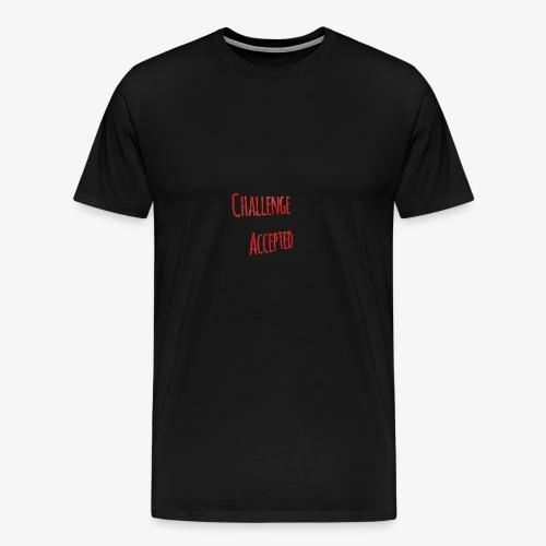 ChallengeAccepted - Men's Premium T-Shirt