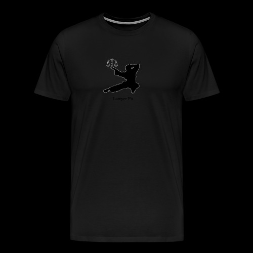 Lawyer Fu Name and Logo - Men's Premium T-Shirt