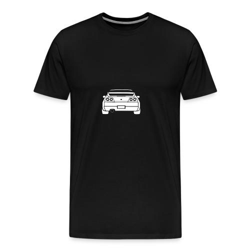 skyline r33 - T-shirt premium pour hommes