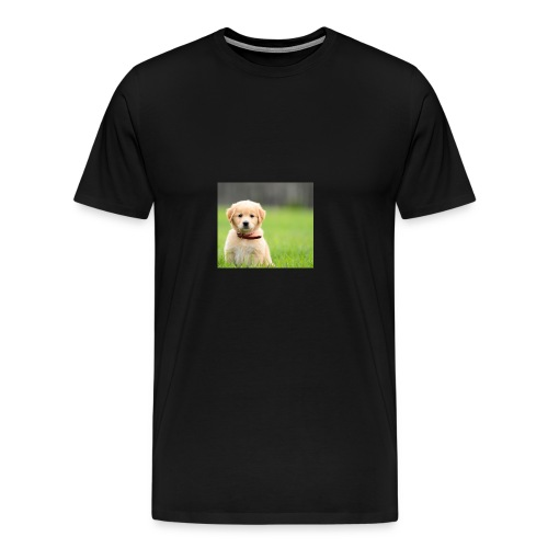 Cute puppy Clothing dogs pets cute fur happy - Men's Premium T-Shirt