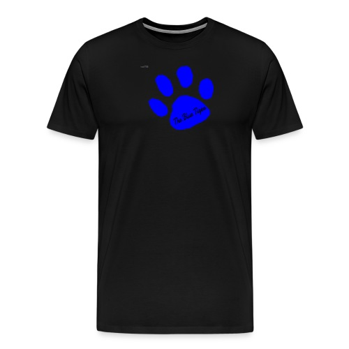 Signed Print from The Blue Tiger - Men's Premium T-Shirt
