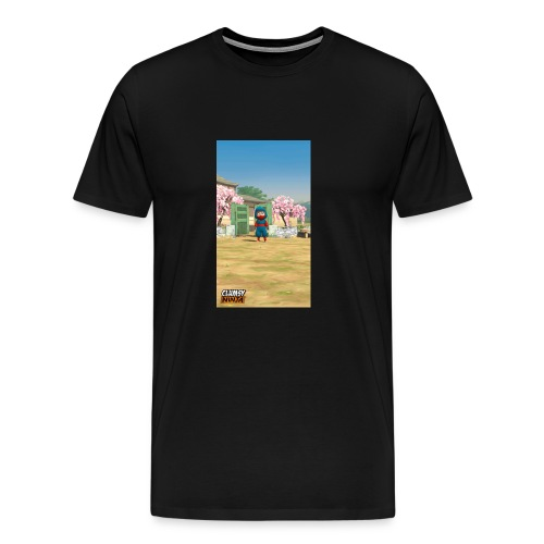 Clumsy ninja hoodie - Men's Premium T-Shirt
