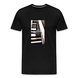 Mic and keys - Men's Premium T-Shirt