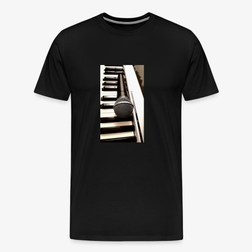 Mic and keys - Men's Premium T-Shirt